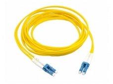 LC/LC dvigubas vienmodis komutacinis kabelis 5m