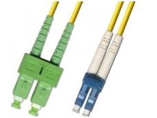 LC/SCAPC dvigubas vienmodis komut. kabelis 5m HP