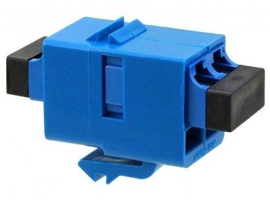 LC tipo dvigubas optinis perėjimas SM (RJ)