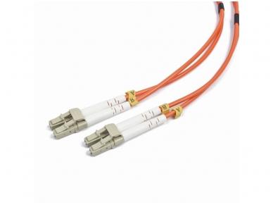 LC/LC dvigubas daugiamodis OM2 komut. kabelis 2m