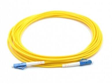 LC/LC viengubas vienmodis komutacinis kabelis 2m, P