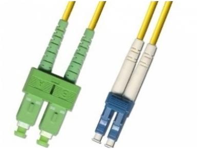 LC/SCAPC dvigubas vienmodis komut. kabelis 10m HP