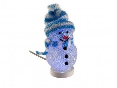 LED dekoracija besmegenis, USB, mėlynas 2