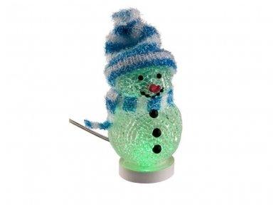 LED dekoracija besmegenis, USB, mėlynas 3