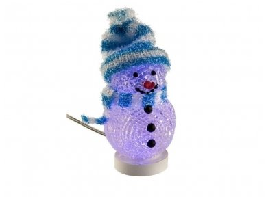 LED dekoracija besmegenis, USB, mėlynas 5