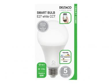 LED lemputė E27 9W Wifi Smart Home
