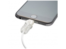 Lindy Lightning Cable Protector Kit. White