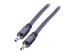 Lindy 0.25m Premium Audio 3.5mm Jack Cable