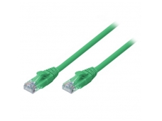 Lindy 0.5m CAT6 U/UTP Snagless Gigabit Network Cable. Green