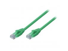 Lindy 0.5m CAT6 U/UTP Snagless Gigabit Network Cable. Green