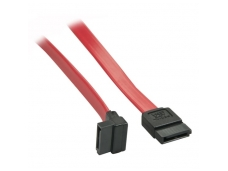 Lindy 0.5m SATA Internal Cable 7 Pin To 90 Deg 7Pin