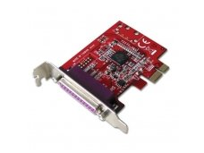 Lindy 1 Port Low Profile Parallel Card. PCIe