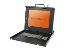 Lindy 19Inch Modular KVM Terminal with 15Inch LCD