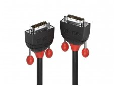 Lindy 1m DVI-D Dual Link Cable. Black Line