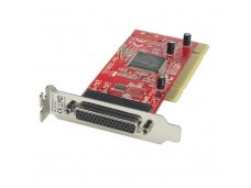 Lindy 2 Port Serial & 1 Port Parallel Low Profile Card. PCI