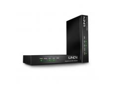 Lindy 200m Fibre Optic DisplayPort 1.4 and USB 2.0 KVM Extender