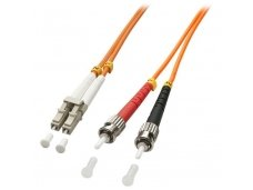 Lindy 3m LC-ST OM2 50/125 Fibre Optic Patch Cable