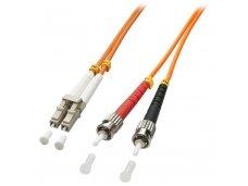 Lindy 3m LC-ST OM2 50/125 Fibre Optic Patch Cable