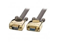Lindy 50m Gold VGA Extension Cable