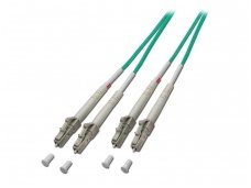 Lindy 5m Fibre Optic Cable - LC to LC. 50/125?MicroMeters OM4