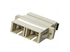 Lindy Fibre Optic Coupler - SC to SC. Multi-mode. Metal Ferrule