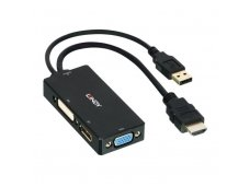 Lindy HDMI to DisplayPort. DVI-D and VGA Adapter Converter
