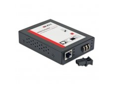 Lindy LC Fast Ethernet Fibre Optic Converter. 10/100Base-TX to 100Base-FX. Multi-mode