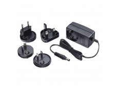 Lindy Multi-Country Switching AC Adapter - 24VDC. 1.25A. 5.5mm Outer / 2.1mm Inner DC Jack