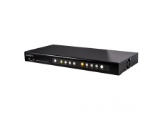 Lindy Quad View KVM Switch Pro. DVI. USB and Audio