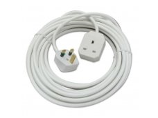 Lindy UK 3 Pin Mains Extension Lead. 10m