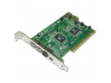 Lindy USB 2.0 & FireWire Combo PCI Card with ULEAD VideoStudio SE Software