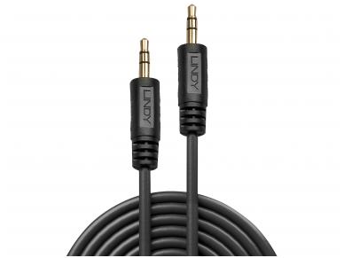 Lindy 0.25m Premium Audio 3.5mm Jack Cable 3