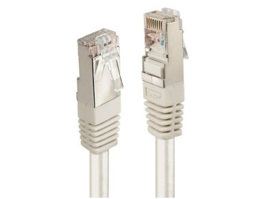 Lindy 10m CAT6 F/UTP Solid Patch Cable. Grey