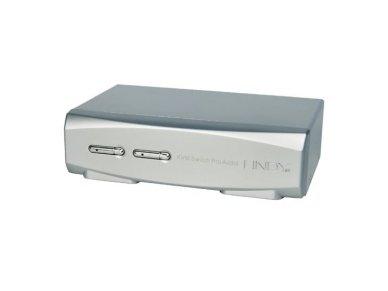 Lindy 2 Port KVM Switch Pro USB 2.0. DisplayPort 1.2 with TTU