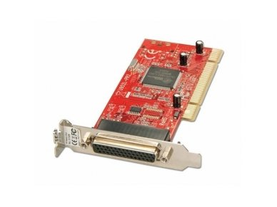 Lindy 2 Port Low Profile Serial RS-232 Card. PCI