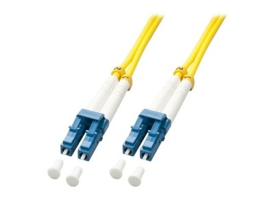 Lindy 20m LC-LC OS2 9/125 Fibre Optic Patch Cable