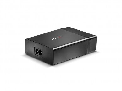 Lindy 4 Port USB Type C and A Smart Charger with Power Delivery. 72W 2