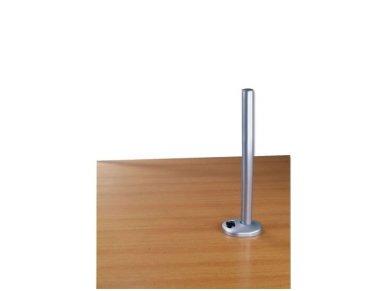 Lindy 450mm Desk Grommet Clamp Pole