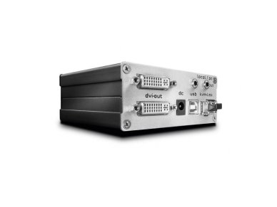Lindy 500m Fibre Optic DVI-D Single Link and USB 2.0 KVM Extender. Transmitter