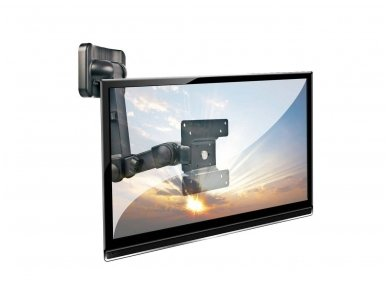 Lindy LCD Multi Joint Wall Bracket. Black 2