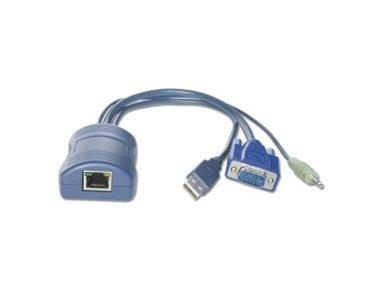 Lindy MC5/MC5-IP/SC5 Computer Access Module. USB & VGA with Audio Support