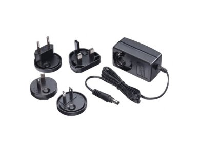 Lindy Multi Country Switching AC Adapter - 5V DC. 2.6A. 5.5mm Outer / 2.1mm Inner DC Jack. Level VI