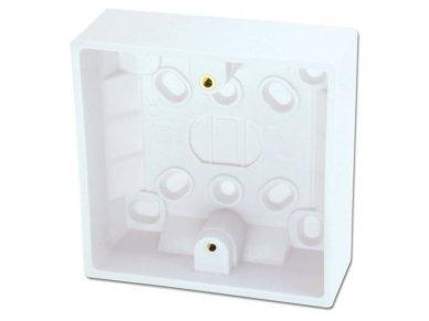 Lindy Surface Pattress Box. Single. Depth 32mm