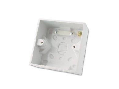 Lindy Surface Pattress Box. Single. Depth 44mm 10pcs