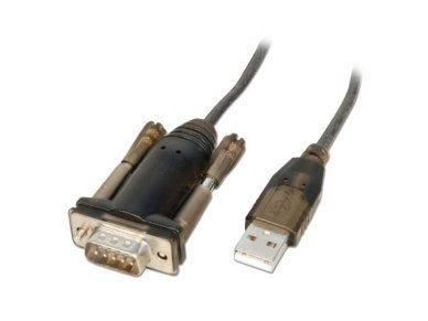 Keitiklis iš USB (A) į COM (DB9M) 1.5m