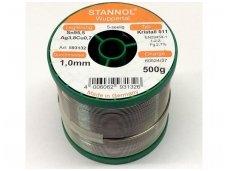 Lydmetalis ECO TSC-KR511-1.0 500g Sn95,5Ag3,8Cu0,7