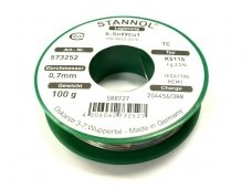 Lydmetalis STANNOL SN99.3Cu0.7100g 0.7mm