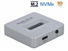 M.2 NVMe stotelė, USB-C 3.2 Gen 2, 10Gbps