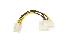 """Maitinimo perėjimas PCI Express 8M - 2x5.25"""" F, 0.15m"""
