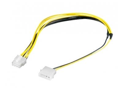 Maitinimo perėjimas 5.25 - PCI Express 8k, 0.28m